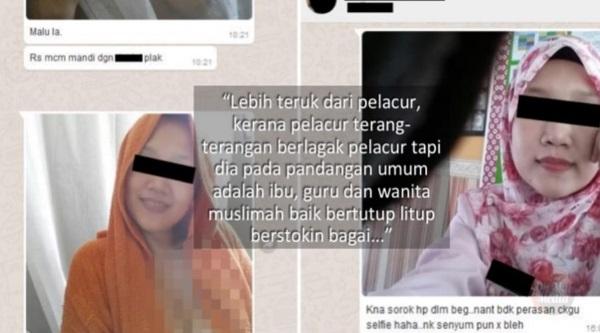 'Lebih HINA Dari Pelacur !'- Isteri Dedah Perbualan 18SX Suaminya Selepas Digoda Oleh Guru Sekolah !