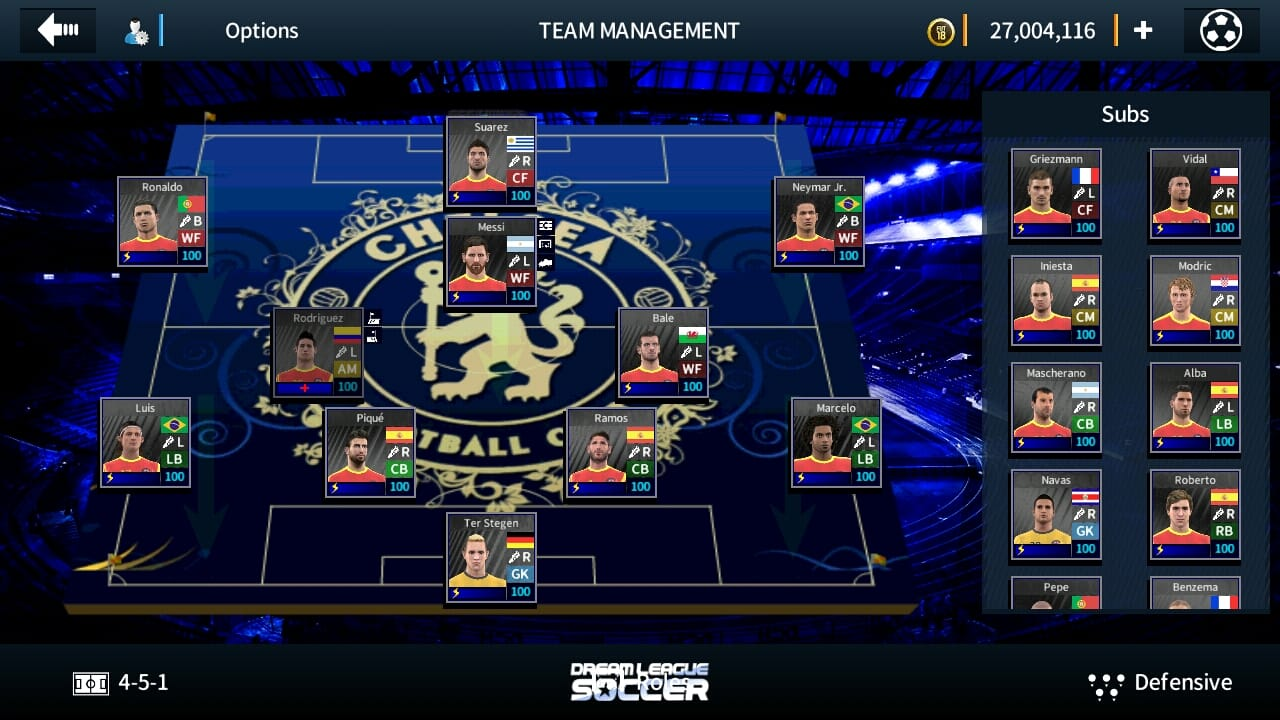 Dream League Soccer 18 Chelsea Edition