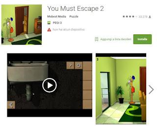 Soluzioni You Must Escape 2 di tutti i livelli