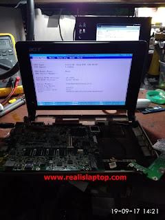Serfis Laptop Acer ZG5 Layar Mati