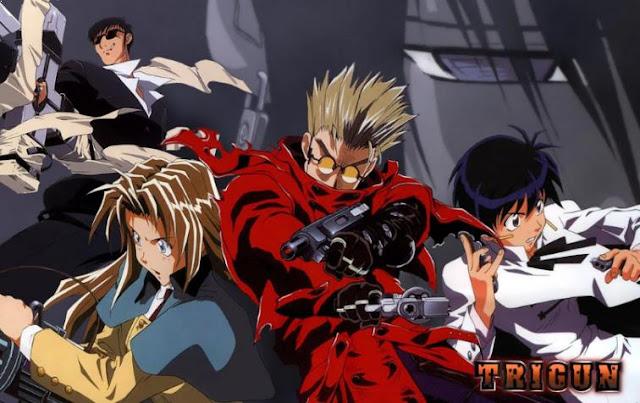 Trigun - Anime Tokoh Utama Pura-pura Lemah