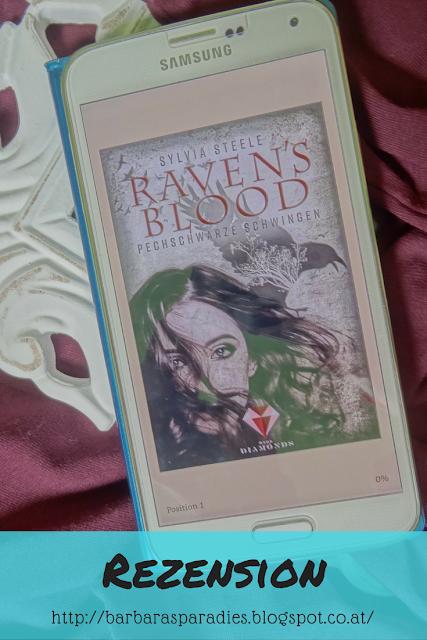 Buchrezension #139 Raven's Blood. Pechschwarze Schwingen von Sylvia Steele