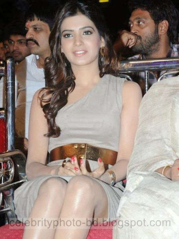 Telugu Actress Samantha Hot Photos Latest Collection In Tight Mini Skirt