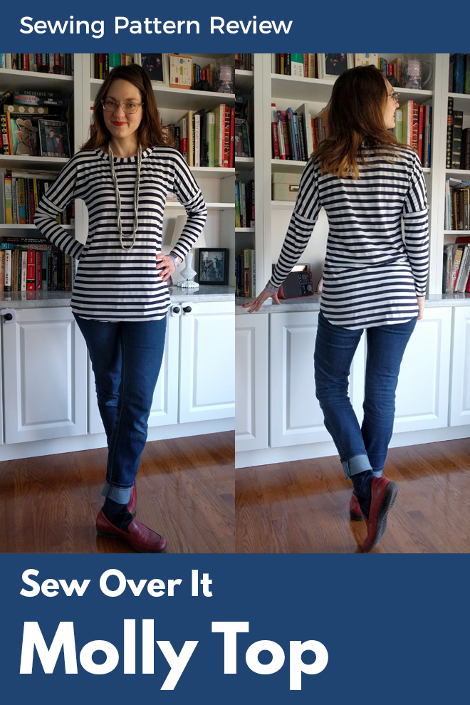 The Sew Over It Molly top is a satisfying wardrobe builder.