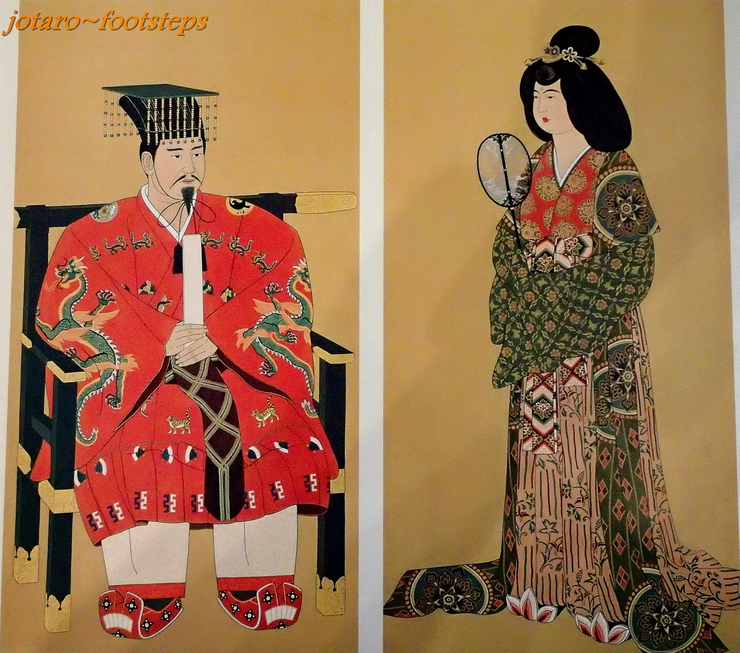These Are Various Artwork Paintings Carvings Statues China Ware Etc That I Saw And Appreciated During A 2014 Holiday In Japan From