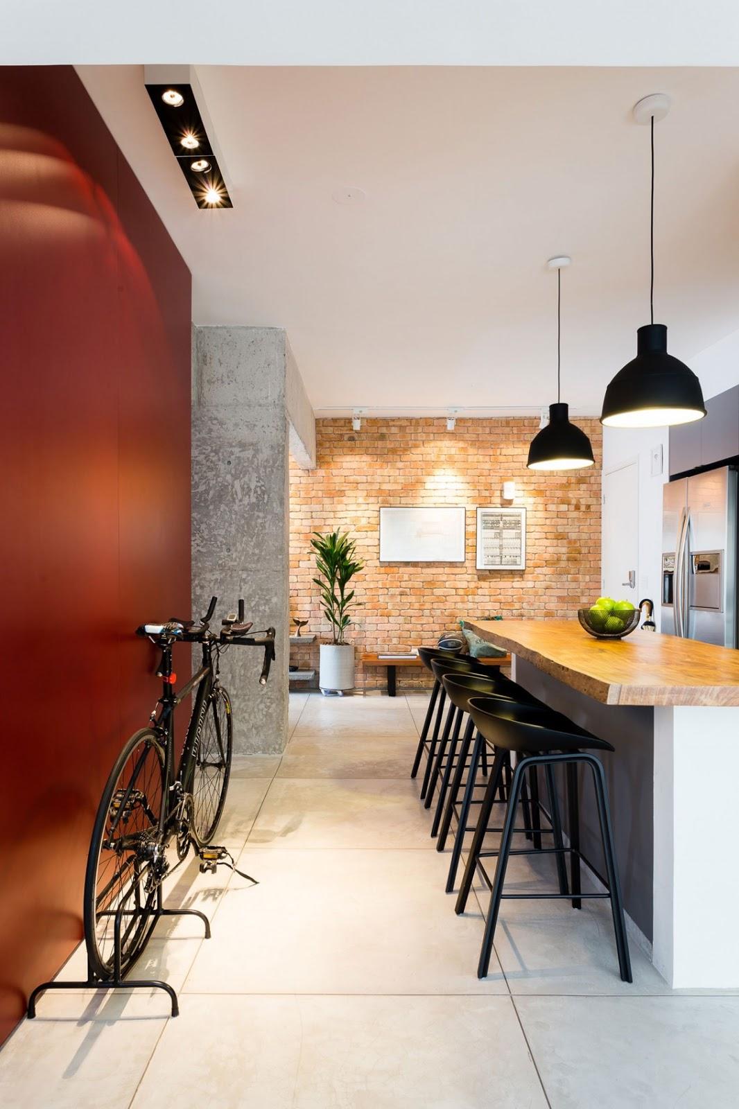 Stil industrial minimal i modern ntr un apartament de 2 for Al saffar interior decoration l l c