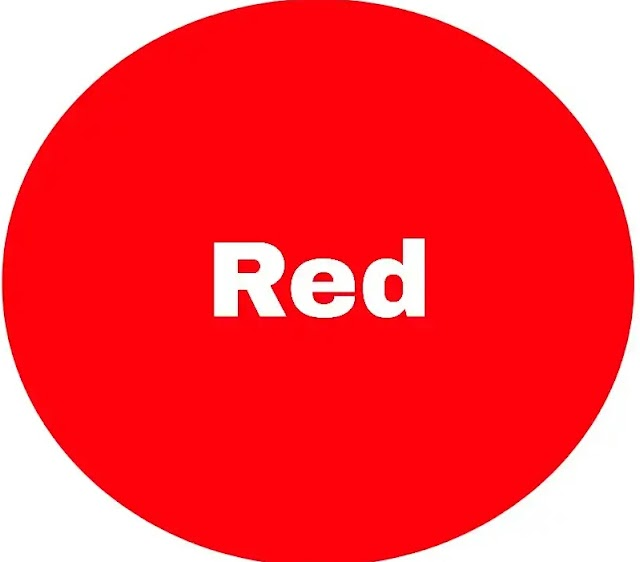 Choose one of these three colors, Your choice will tell your future