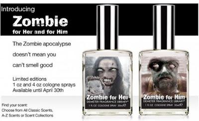 Minyak Wangi Zombie Dengan Aroma Mayat