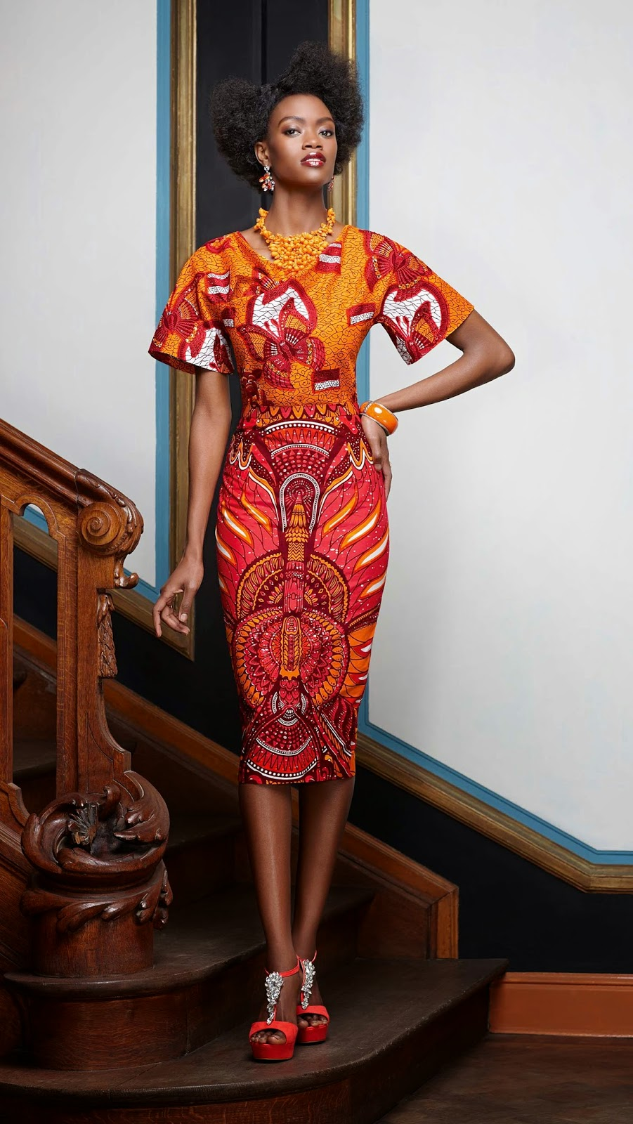 African Prints Inspiration: Vlisco Splendeur Collection ...