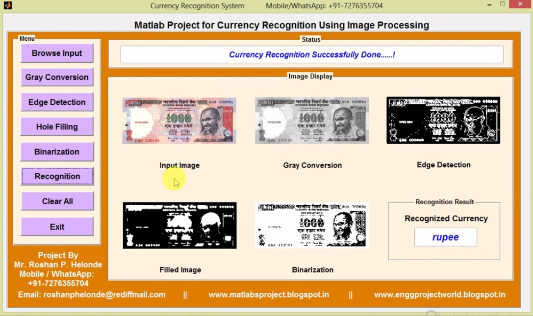 2018 ~ MATLAB PROJECTS