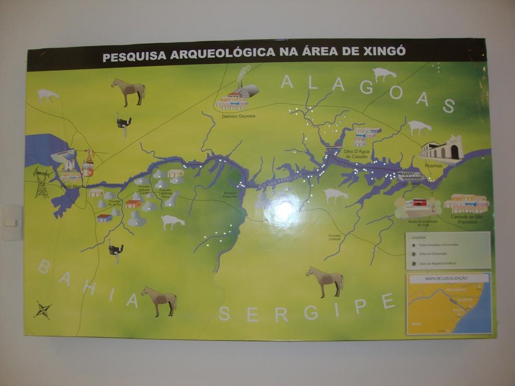 Cânions do Xingó Rio São Francisco
