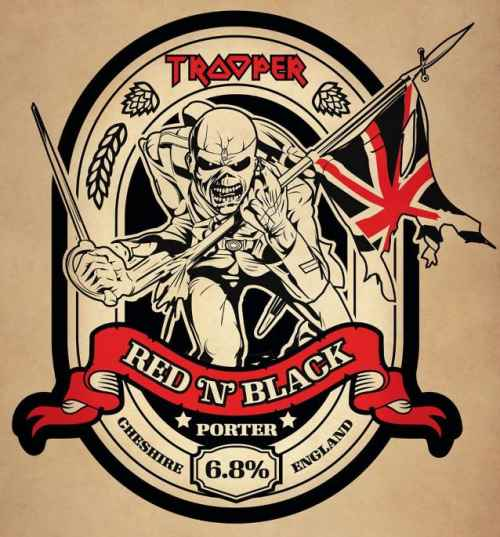 "IRON MAIDEN: Έρχεται η ""Trooper Red 'N' Black"""