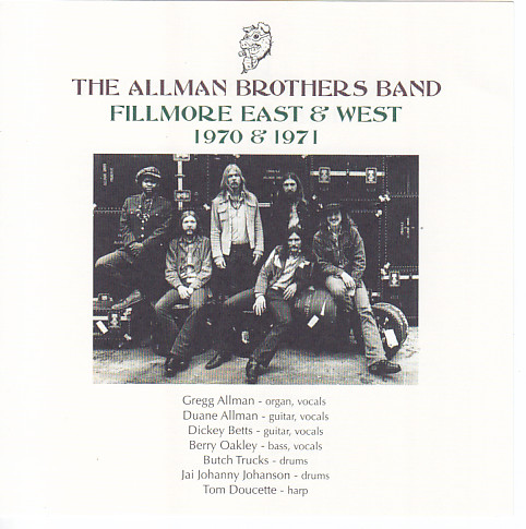 Music Television presents the Allman Brothers band at The Fillmore East September 23, 1970