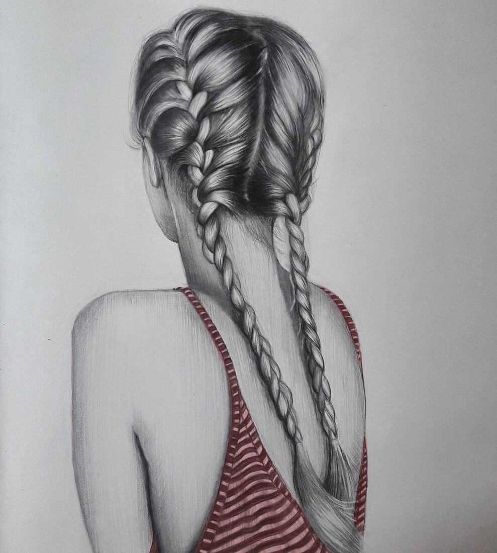 11-S-Mutlu-Hair-Study-Portrait-Drawings-www-designstack-co