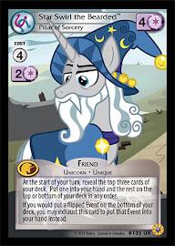 My Little Pony Star Swirl the Bearded, Pillar or Sorcery Friends Forever CCG Card