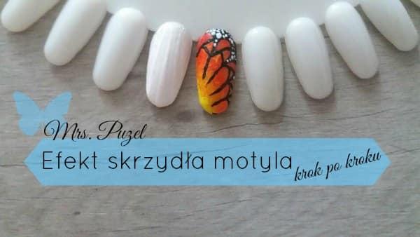 Jak zrobić efekt skrzydła motyla na paznokciach? Jak zrobić gradient ombre pędzelkiem?