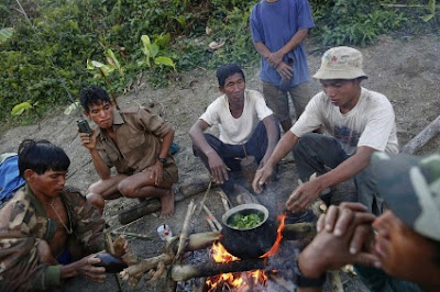La mayoría de los habitantes de esta región fronteriza con India son de las tribus nagas.