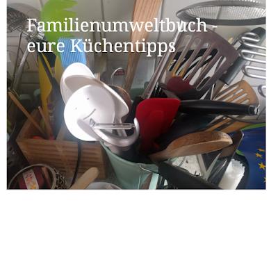 Buchprojekt Familienumweltbuch - nachhaltig in der Küche