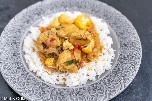 Dahi chicken - Indisk kycklinggryta