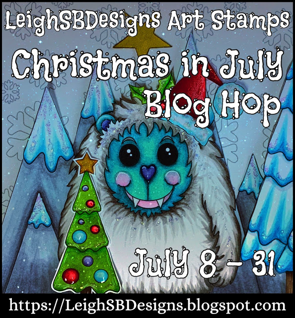Christmas in July with LeighSB Designs