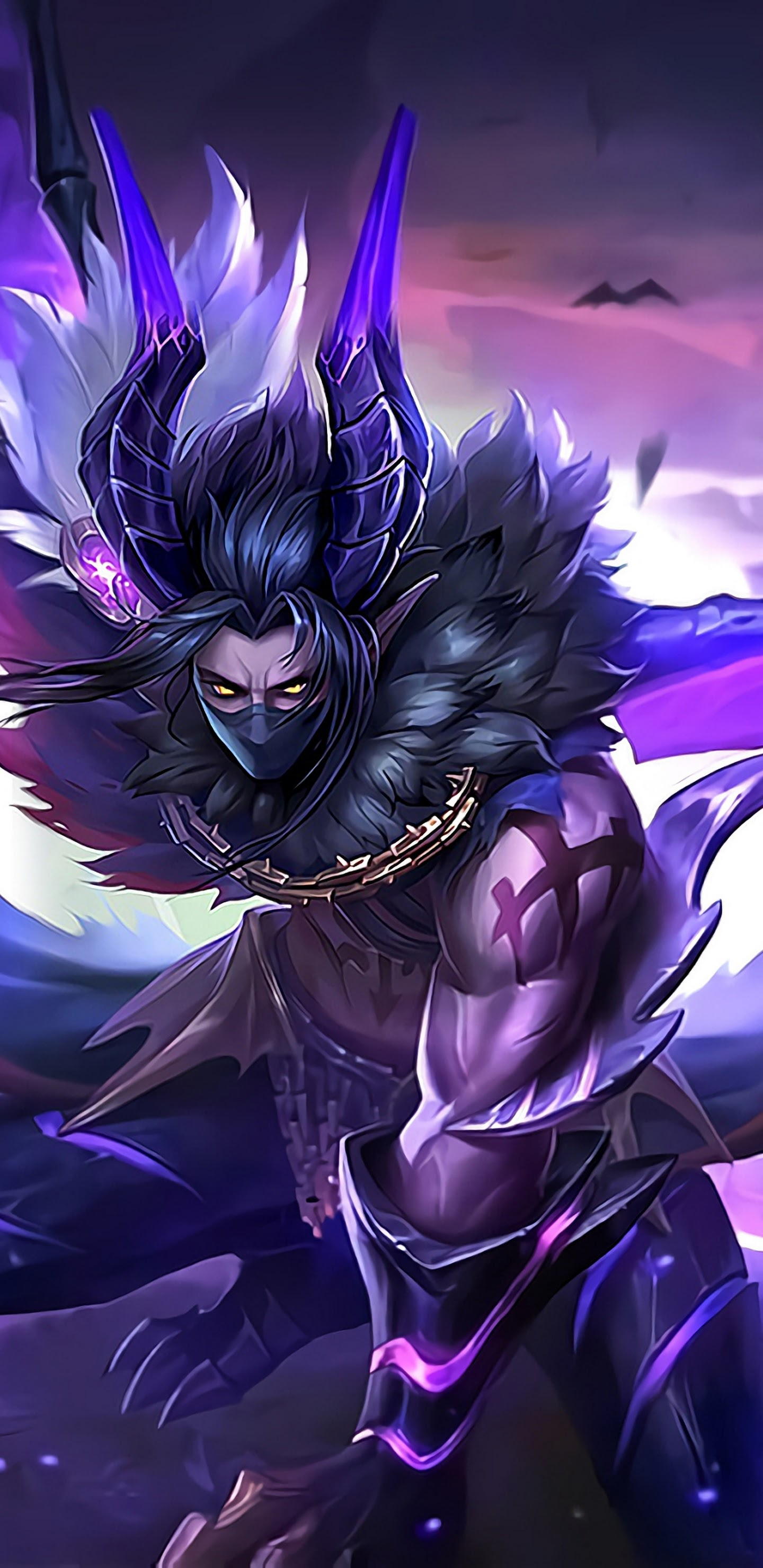 Moskov Twilight Dragon Skin Mobile Legends 4k Wallpaper 139
