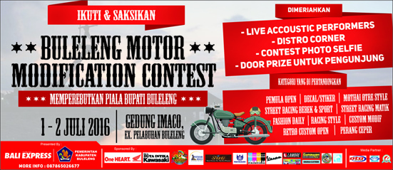 Buleleng Motor Modification Contest 2016