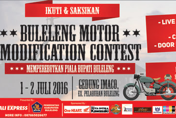 Akan Ada Buleleng Motor Modification Contest 2016
