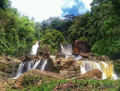 the Amazing Curug Ngebul Tasikmalaya