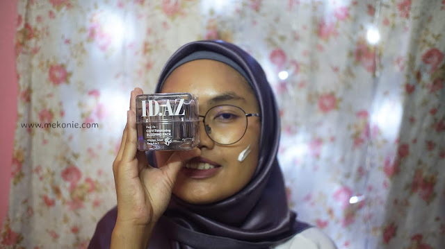 BEAUTY REVIEW - ID.AZ CU-V TENSIONING SLEEPING PACK FACE FIT