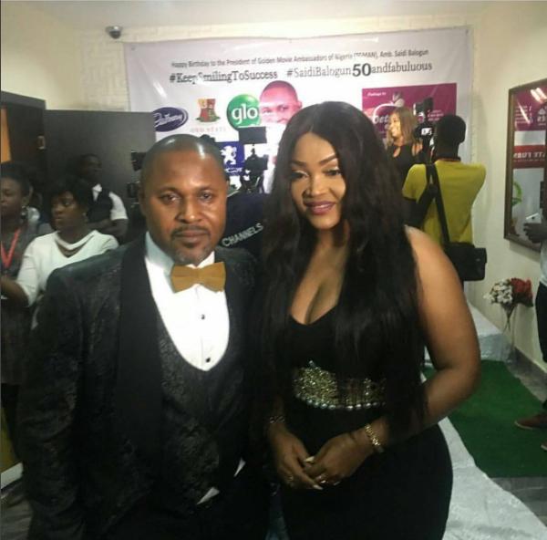 Mercy Aigbe and Saidi Balogun