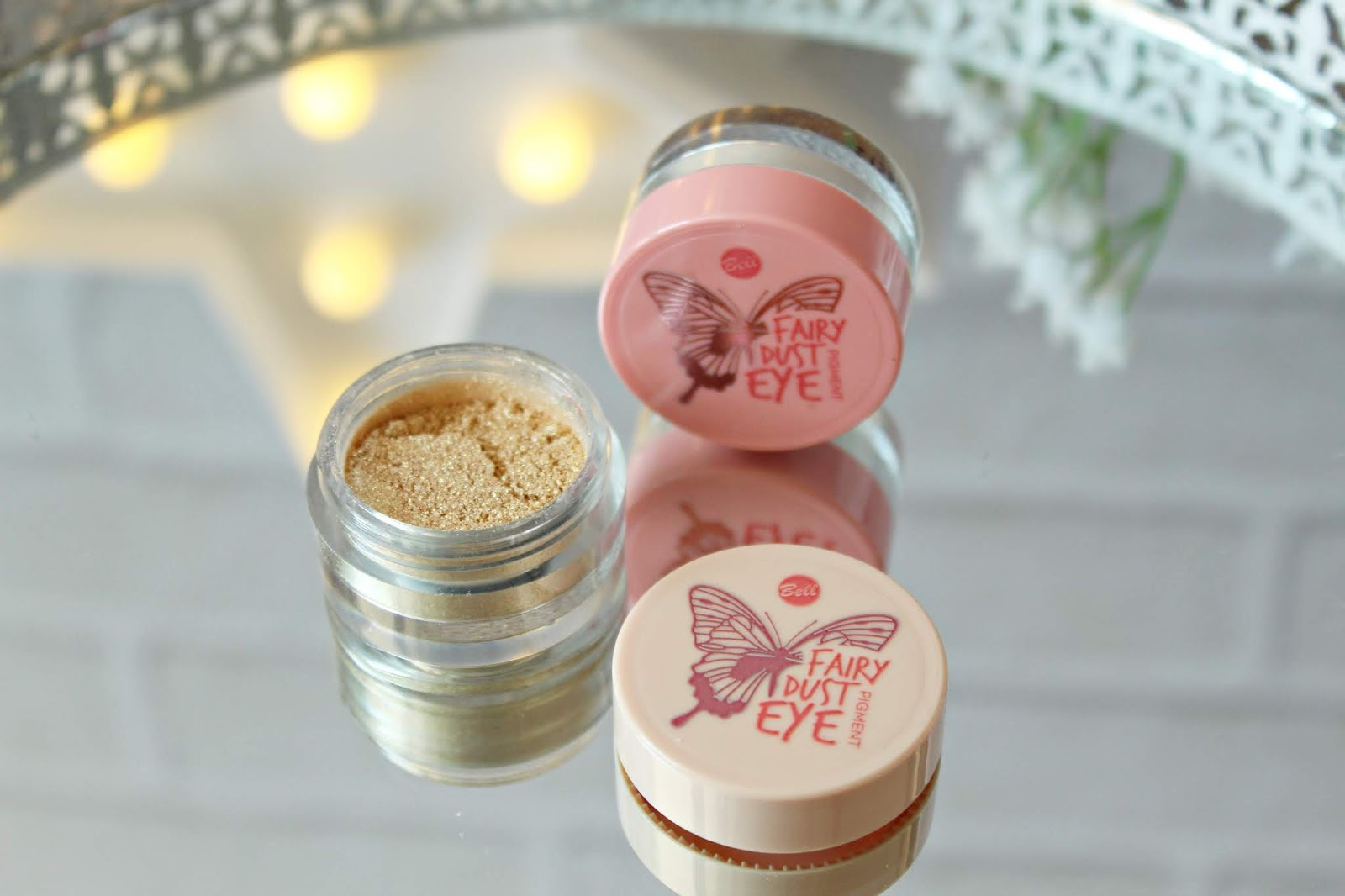 SYPKIE PIGMENTY DO OCZU Bell Fairy Tale FAIRY DUST EYE PIGMENT