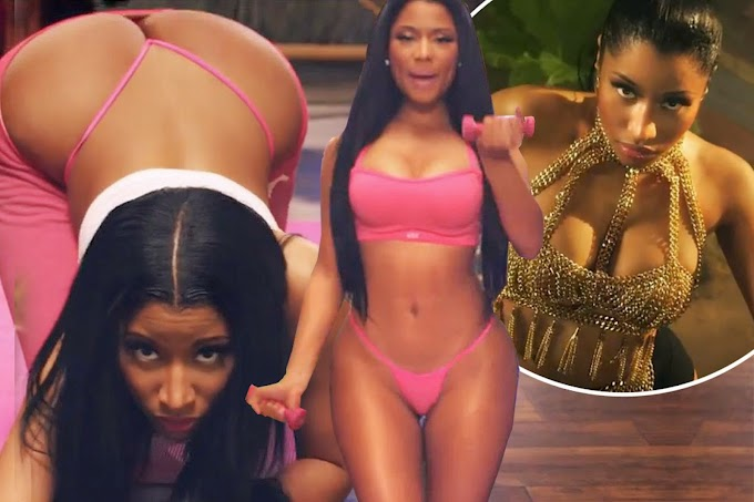 Nicki Minaj Anaconda Hot Sexy Glamour Photo gallery HD Wallpaper
