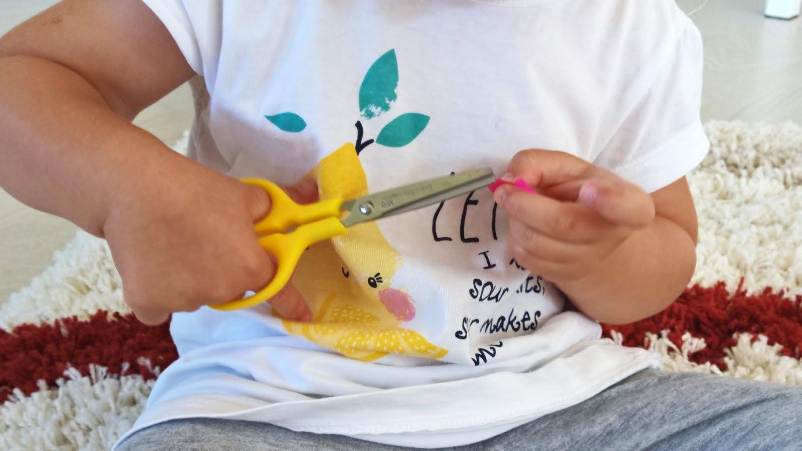 Montessori - nożyczki i wycinanie