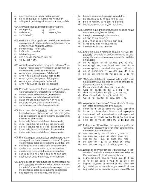 1000 QUESTÕES DE PORTUGUÊS PDF COM GABARITO