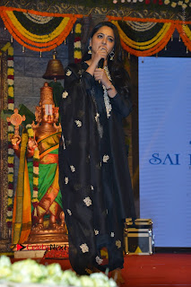 Actress Anushka Anushka Shetty Stills in Black Salwar Kameez at Om Namo Venkatesaya Audio Launch Event  0049.JPG