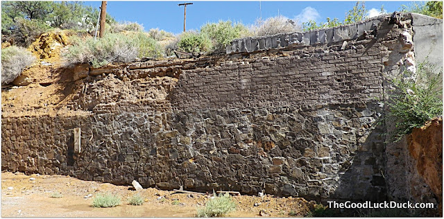 old wall, Truth or Consequences, NM