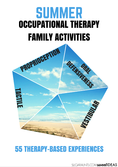 Summer Occupational Therapy Family activities