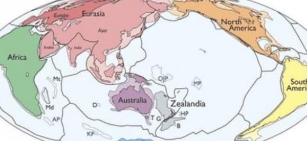 Ανακάλυψαν νέα ήπειρο για να εκμεταλλευτούν την ΑΟΖ της ! – Πως ονομάζεται και πού βρίσκεται (Χαρτης)