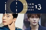 Пак Со Джун и Ким Чжечжун получили награды на Asian Film Awards 13