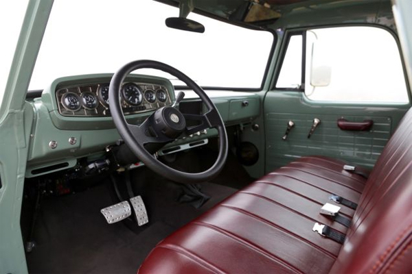 ICON Dodge D200 Power Wagon interior