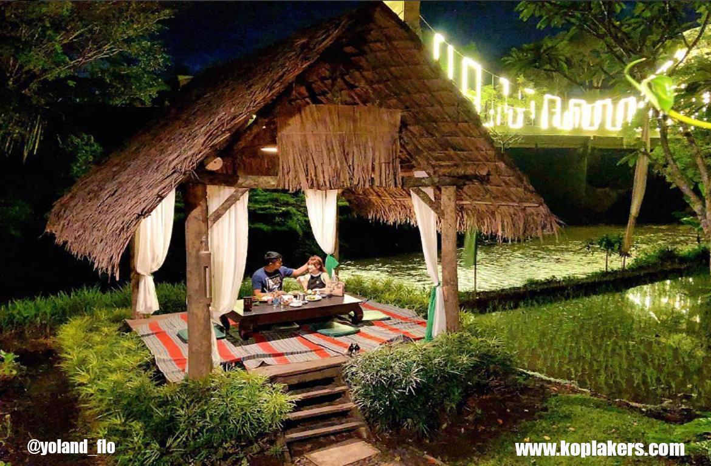 Taman indie malang , cafe romantis dan bertema jawa
