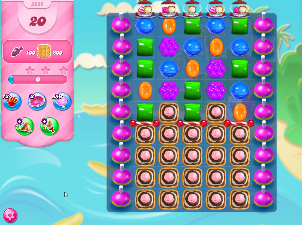 Candy Crush Saga level 3639