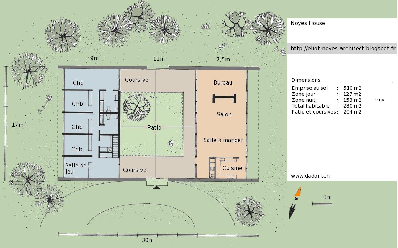 Maison Avec Patio Central. Maison Avec Patio Central Plan