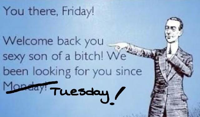 Why does Shorter Work Week Seems Longer!