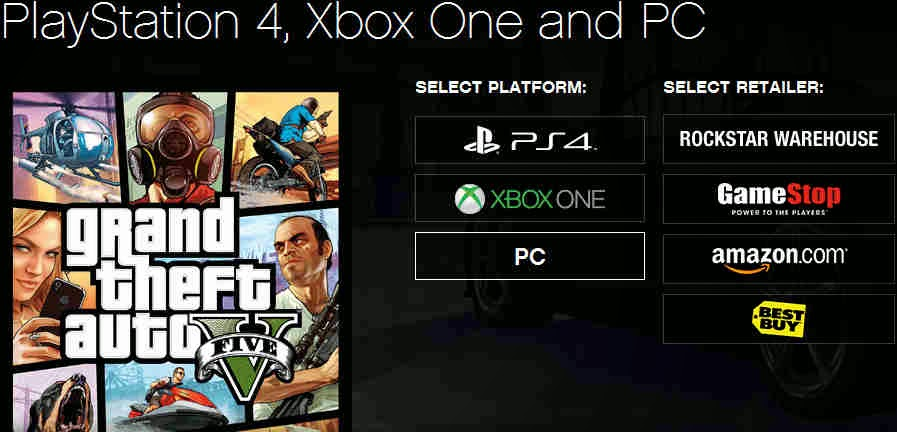 GTA 5 per PC, PS4 e Xbox One
