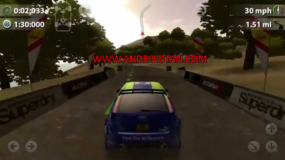 Fitur Game Rush Rally 2 Mod Apk + Data