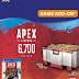 Apex Legends 6700 Coins PS4 (UK)