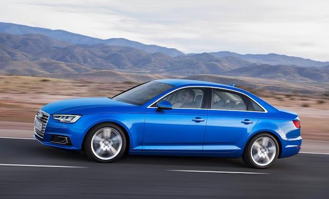 2017 Audi A4 blue