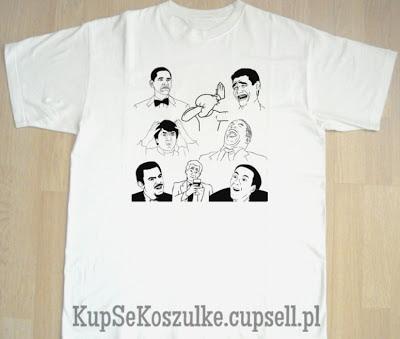 Postacie z Komixxów koszulka