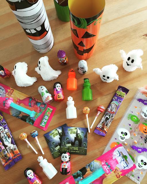 halloween geschenkebeutel für kinder